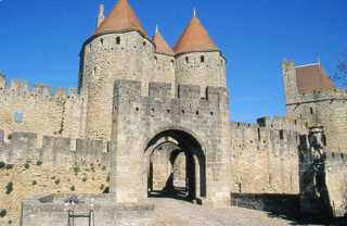 Magnificent Carcassonne which is near our holiday house